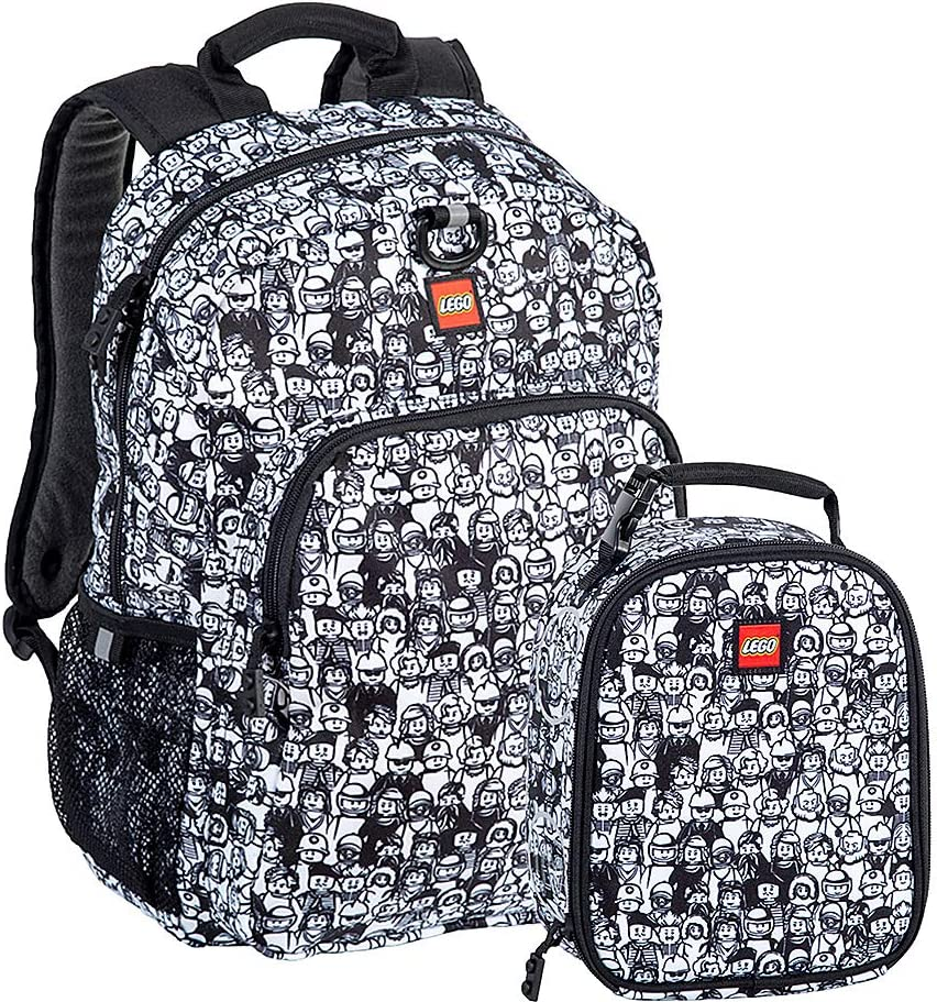 LEGO Minifigure Backpack & Lunch (Minifigure Crowd)