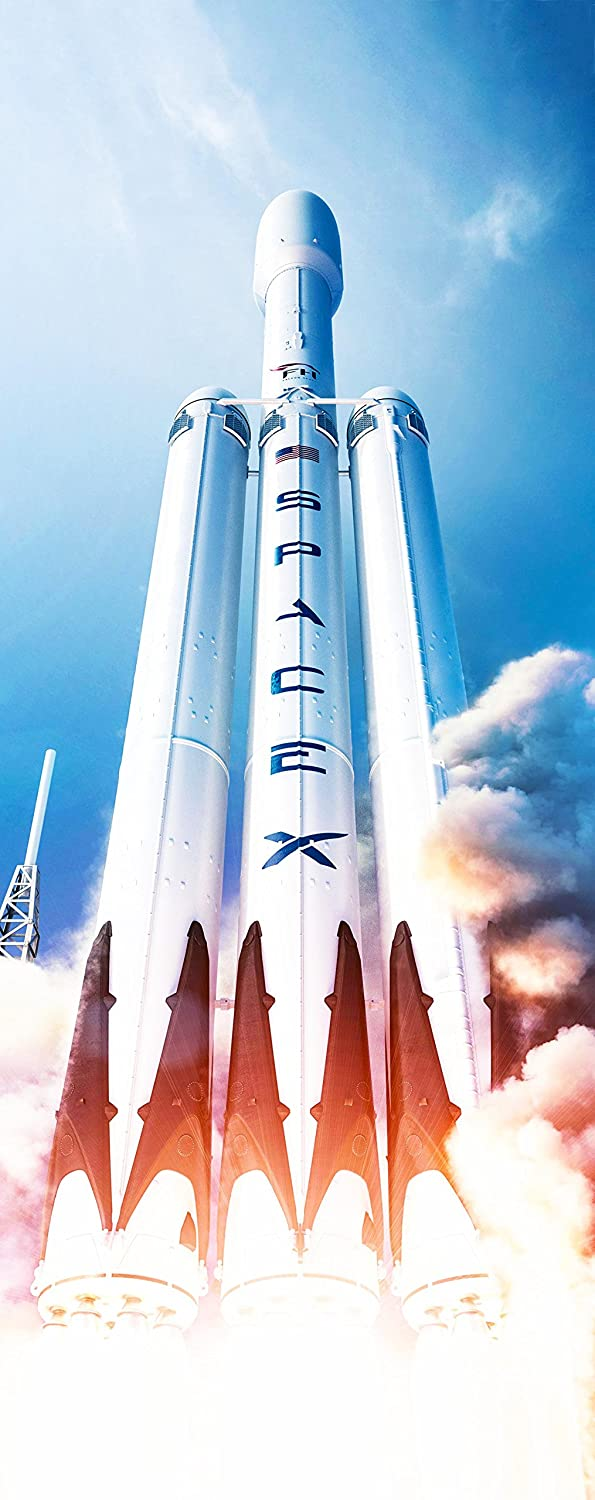 Falcon Heavy Launch Poster