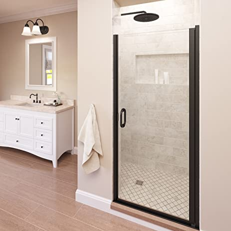 Basco Infinity 33- 34 in Width, Semi-Frameless Shower Door ...