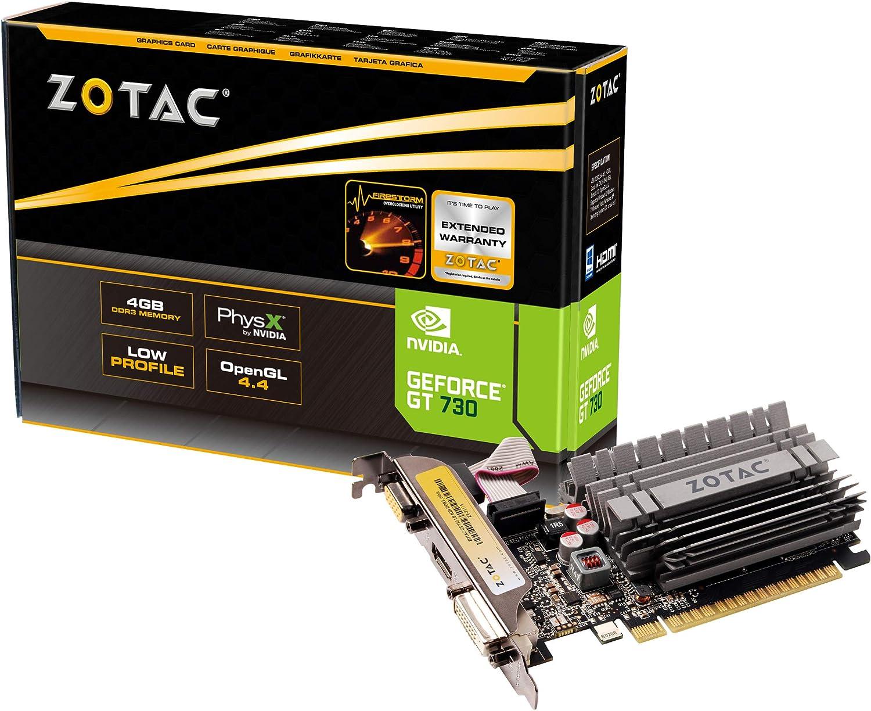 ZOTAC GeForce GT 730 Tarjeta gráfica - GF GT 730 - 4 GB