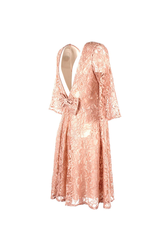 Inverno Clothing Donna 201718 S Rosa Autunno Abito To0464 Vicolo Yfv7gyb6