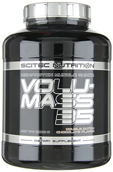 Amazon.com: High Protein Lean - Mass Gainer Chocolate Scitec Nutrition Volu-mass35 2950gr: Health & Personal Care
