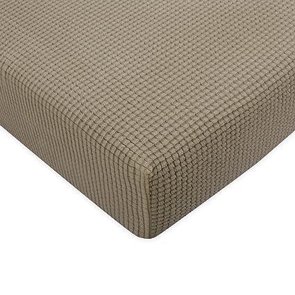 Pleasant Subrtex Spandex Elastic Couch Cushion Covers Stretch Chair Slipcover Furniture Protector For Sofa Seat Cushion Sofa Cushion Sand Interior Design Ideas Tzicisoteloinfo