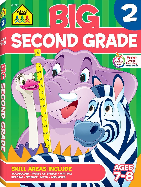Workbooks math makes sense 7 workbook : Amazon.com: Second Grade Big Workbook (7544580249242): School Zone ...