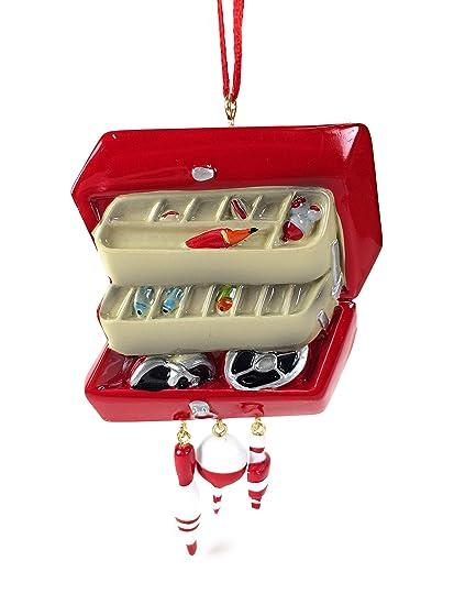 Kurt Adler Fishing Tackle Box Christmas Ornament - Amazon.com: Kurt Adler Fishing Tackle Box Christmas Ornament: Home