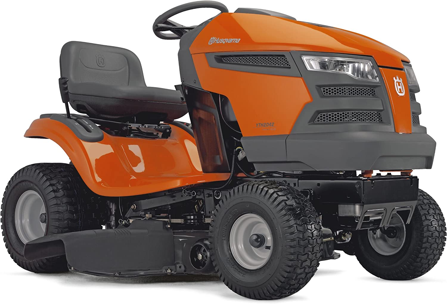 Amazon Com Husqvarna Yth2042 42 Inch 540cc 20 Hp Briggs Stratton Intek Lever Activated Hydrostatic Transmission Riding Lawn Tractor Riding Mowers Garden Outdoor