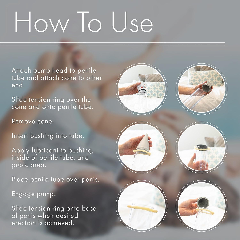 Amazon.com: Vacuum Pump for Men, Natural Alternative to Erectile Dysfunction Pills, Manual Penis Pump, Mens Pump Kit for Erectile Dysfunction - Pos-T-Vac, ...