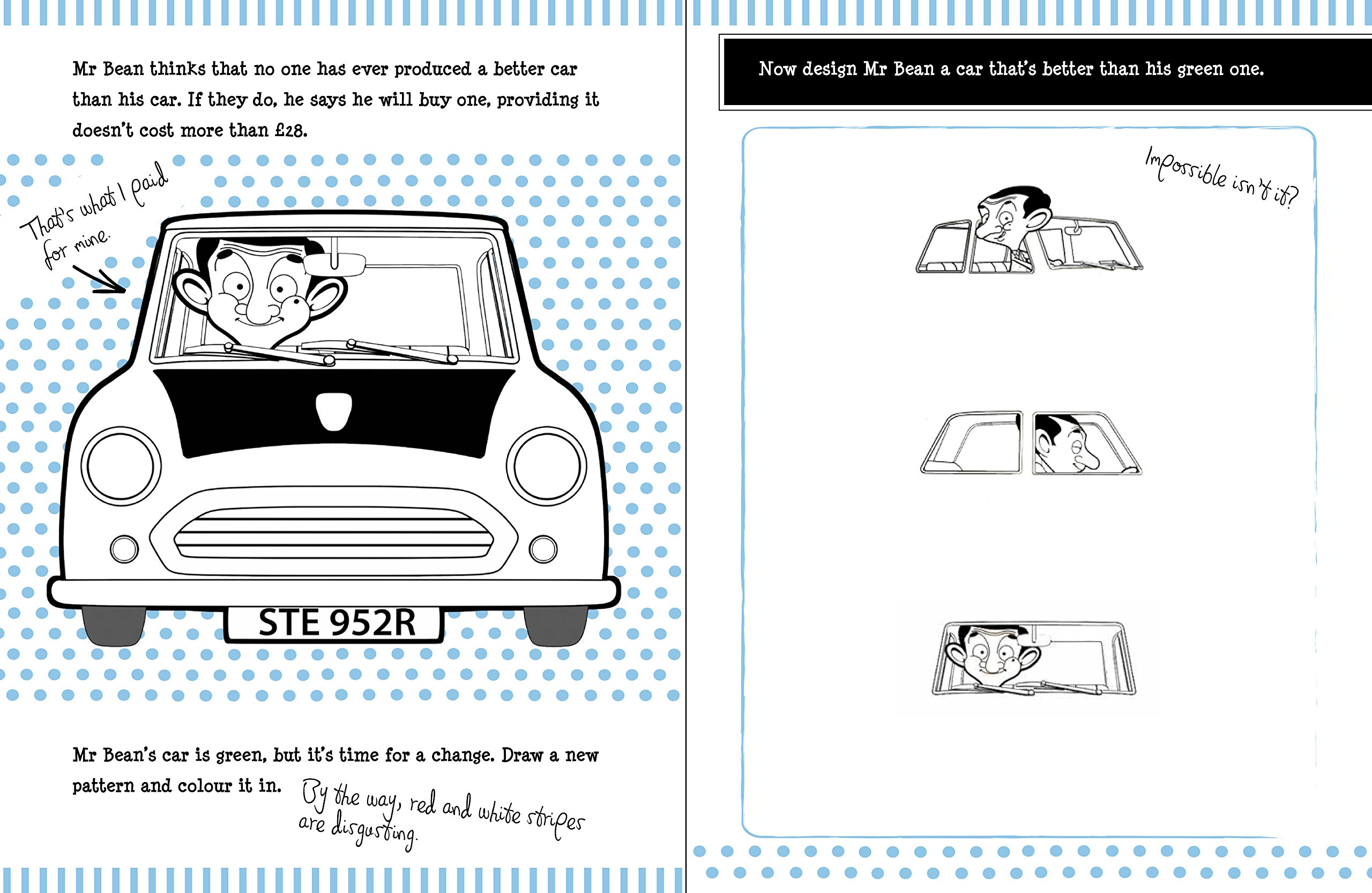 Mr beans disastrous do it yourself doodle book anna brett mr beans disastrous do it yourself doodle book anna brett 9781783121380 amazon books solutioingenieria Image collections