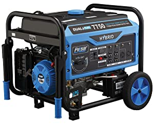Pulsar PG7750B, 7750W Dual Fuel Portable Generator with Switch and Go Technology