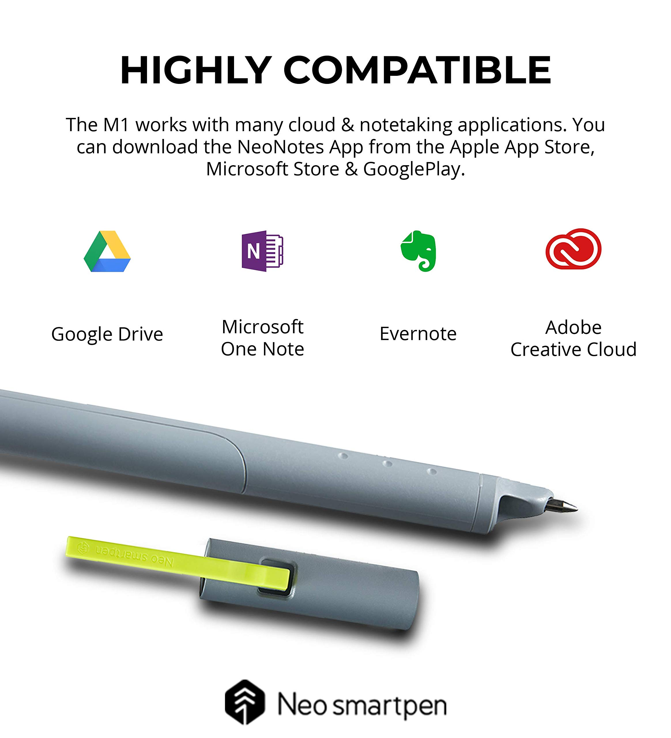 Additional Ink Refill and ADNA Stickers Includes Two A4 Sized College Ruled Notebooks Blue Dolphin Student Edition Bundle Livescribe Aegir Smartpen