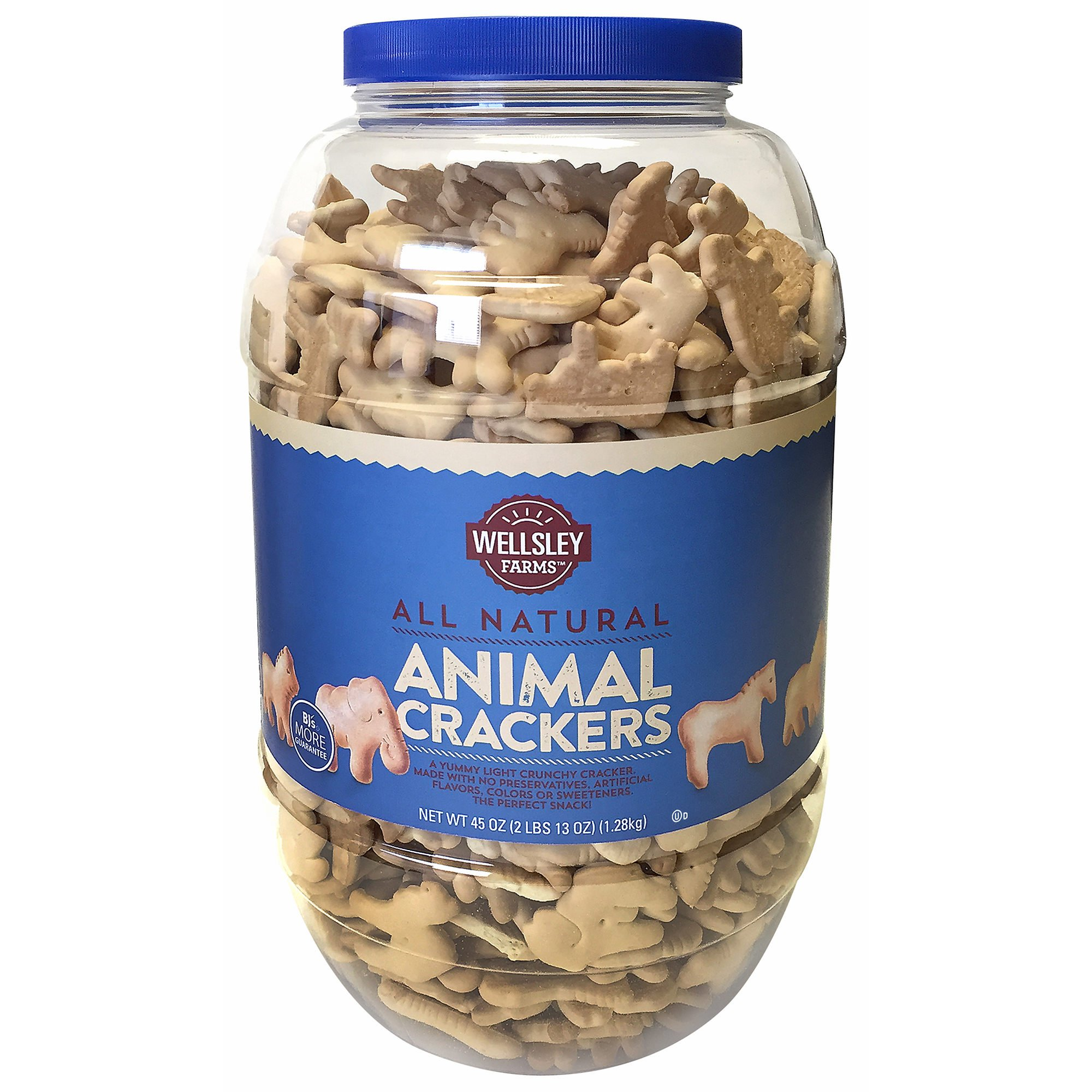 Wellsley Farms Animal Crackers, 45 oz. (pack of 6)