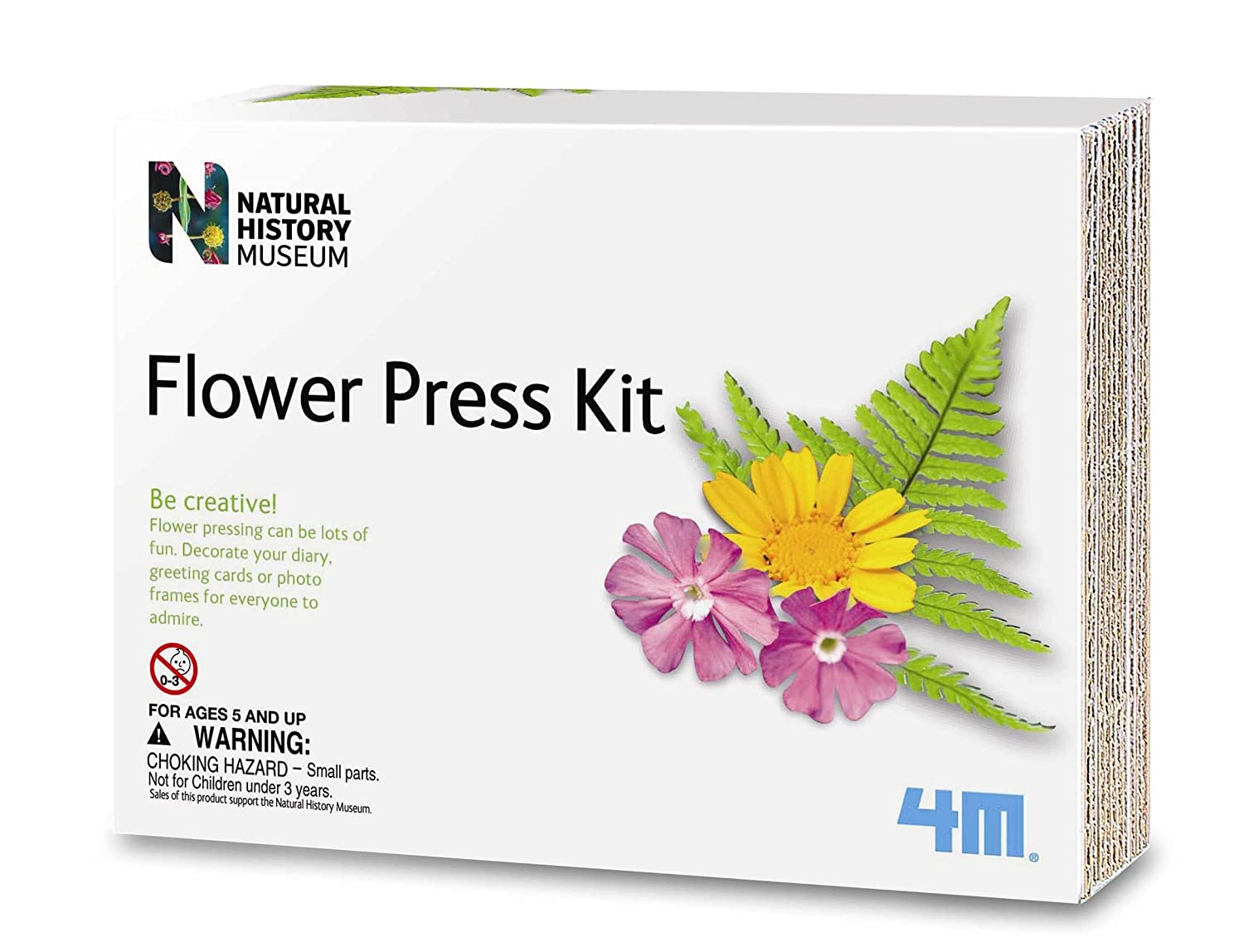 Natural History Museum Flower Pressing Kit Amazon Toys Games