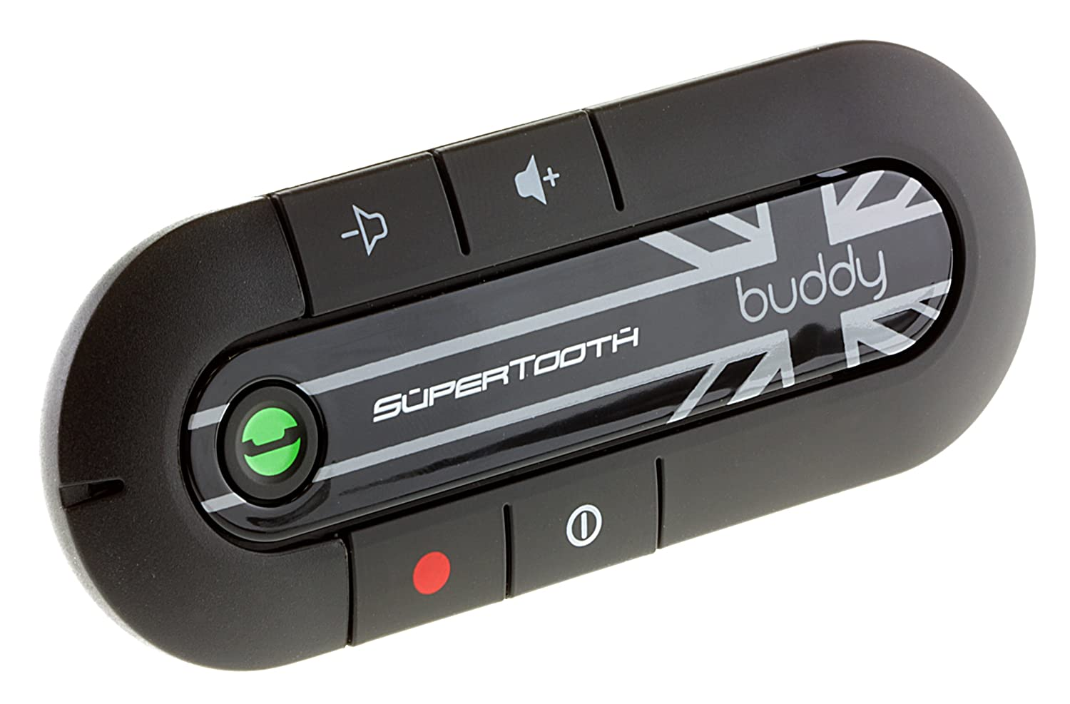 【2018?新作】 SuperTooth B000B9UQTU Buddy Kit Handsfree Bluetooth Visor Car SuperTooth Kit - Union Jack B000B9UQTU, 大館市:84d03d17 --- egreensolutions.ca