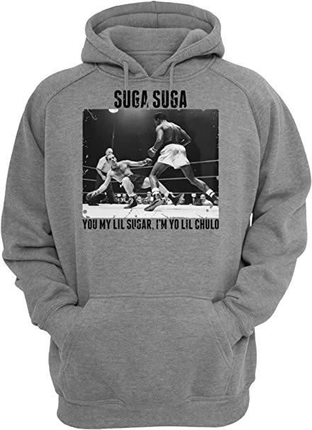 MaikesTic Sugar Ray Robinson Suga Suga Boxing Design Unisex Pullover Hoodie