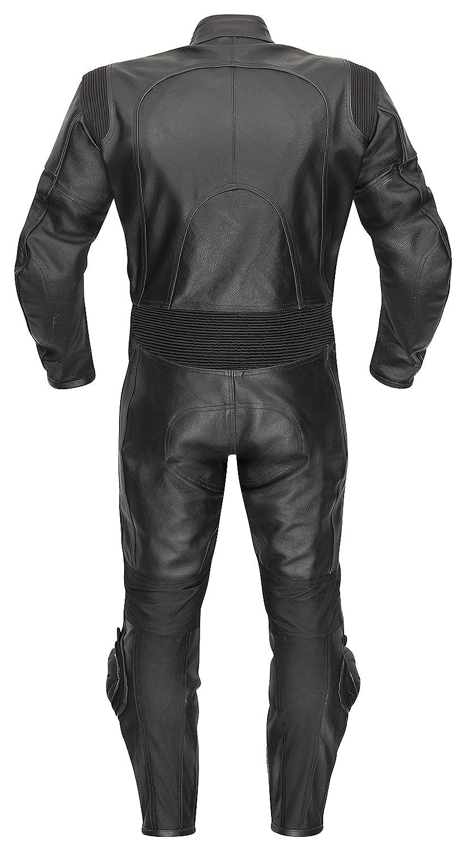 54 Belezza Lederkombi Racing Einteiler schwarz Motorradkombi einteilig