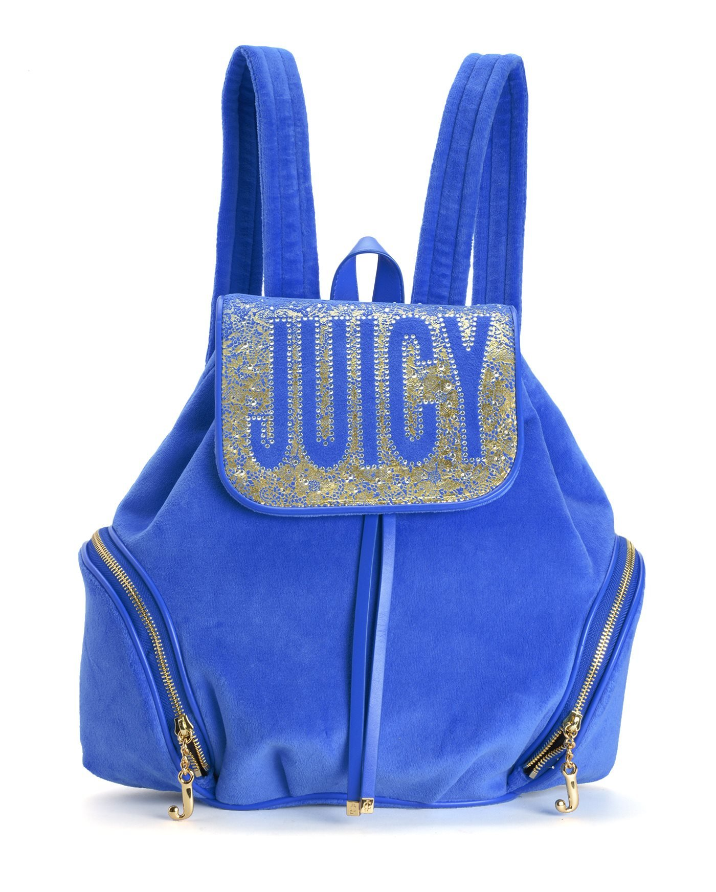 Juicy Couture Pretty in Paradise Velour Backpack, Summer Raine