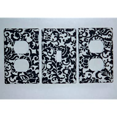 toycatz creations Damask Scroll Switchplate/Oulet Cover