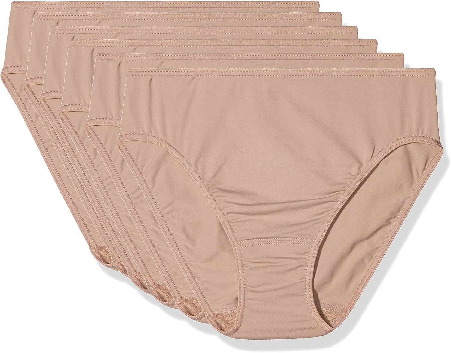 AVET Braga Punto Liso Soft Touch Pack 6, Mujer: Amazon.es: Ropa y accesorios