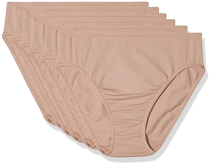 AVET Braga Punto Liso Soft Touch Pack 6, Mujer, Arcilla, M: Amazon.es: Ropa y accesorios