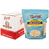Bob's Red Mill Organic Old Fashioned Rolled Oats, 32-ounce (Pack of 4)