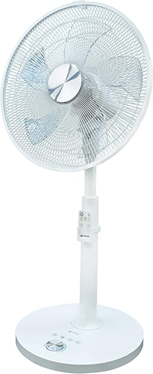 Grunkel - Fan Silence Plus - Ventilador de pie ultrasilencioso con ...