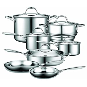 Cooks Standard NC-00232 Stainless-Steel Cookware Set
