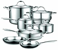 Cooks Standard Multi-Ply Clad Stainless Steel Cookware Set