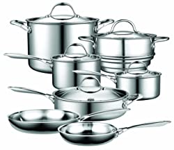 Cooks Standard NC-00232 12-Piece Multi-Ply Clad Stainless-Steel