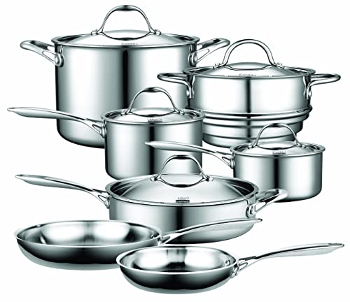 Cooks Standard Multi-Ply Clad Stainless Steel Cookware Set Review