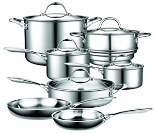 Cooks Standard NC-00232 Stainless Steel Cookware Set