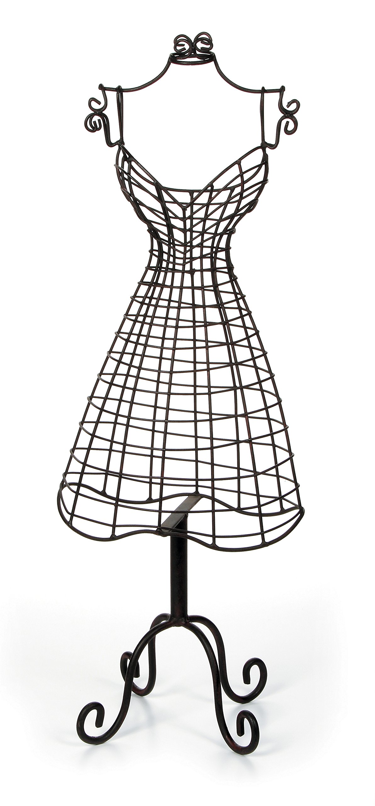 Darice Metal Dress Form Jewelry Display