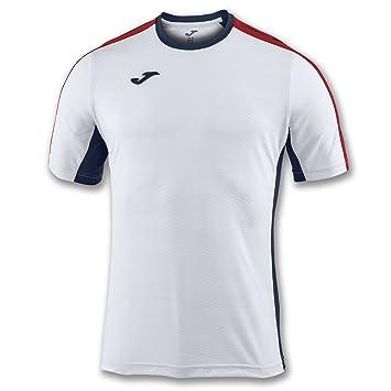 Joma Granada Camisetas Equip. M/C, Hombre, Blanco, 2XL/3XL