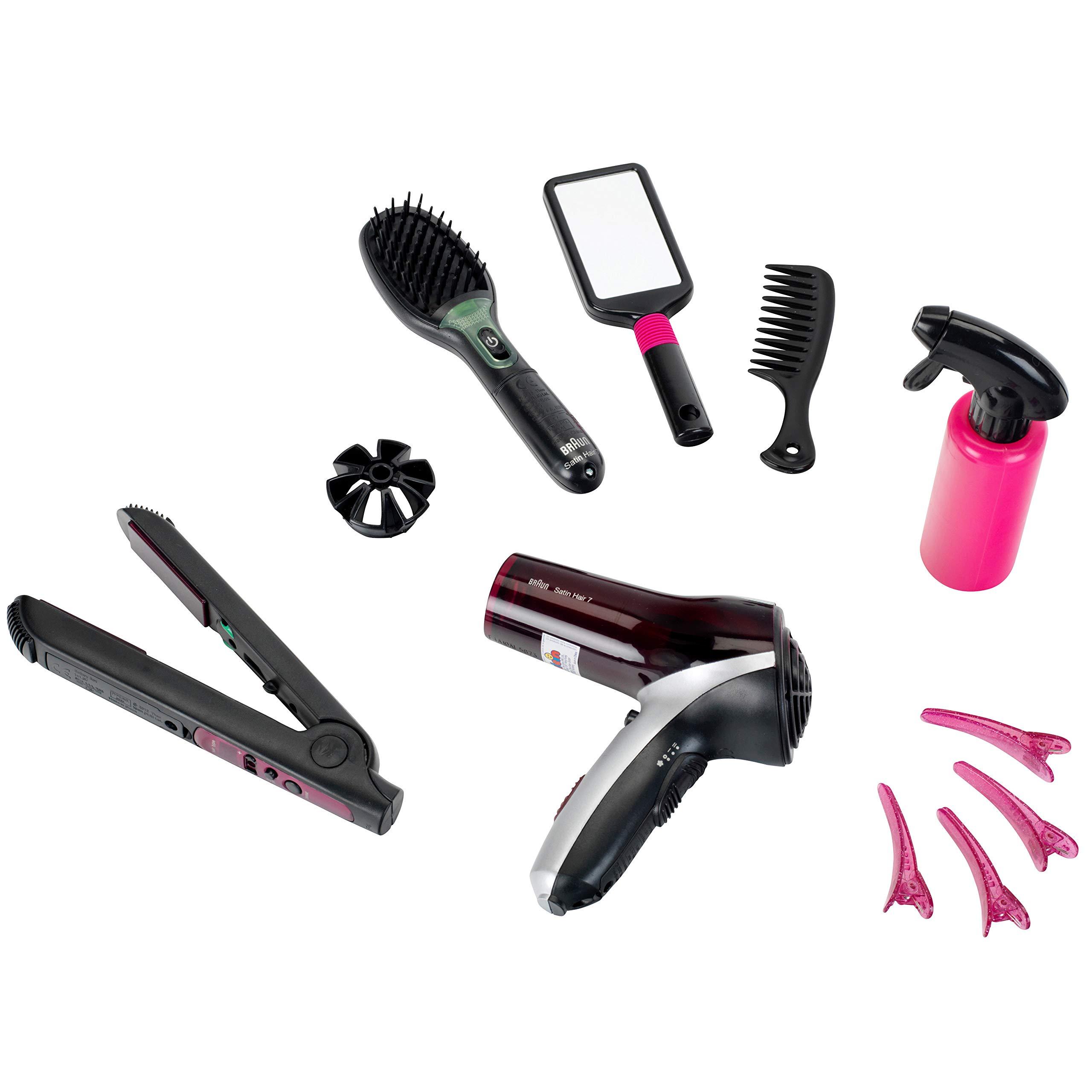 Theo Klein - Braun Mega Hairstyling Set Premium Toys For Kids Ages 3 Years & Up