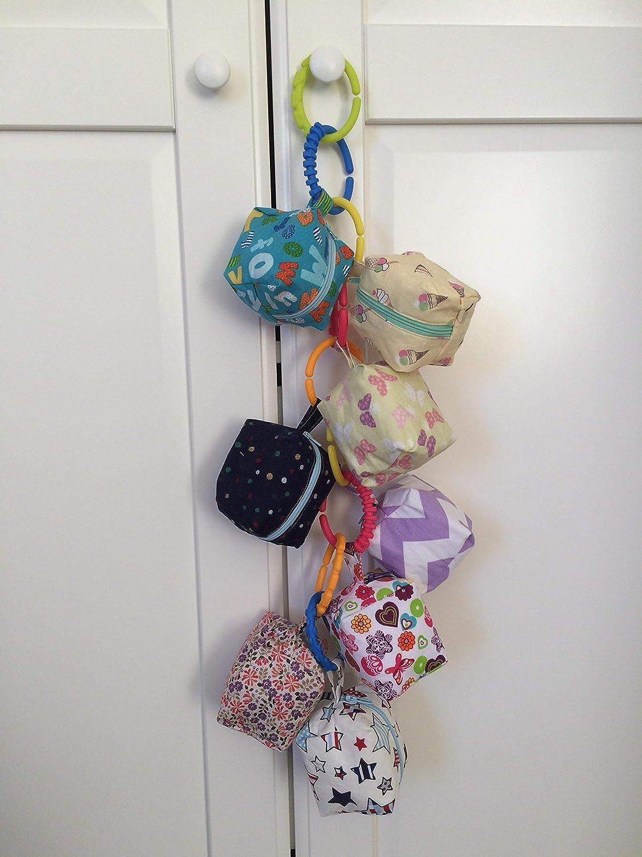 Bolsa (chupete) dummy con clip para el bolso/el cochecito ...