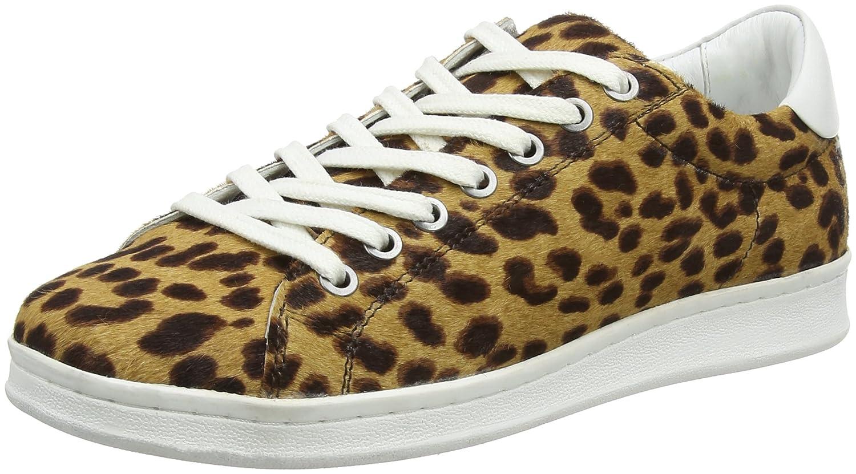 Maruti Damen Nena Leder Hairon Leder Nena Sneaker Beige (Panther Braun/schwarz) 90ddf2