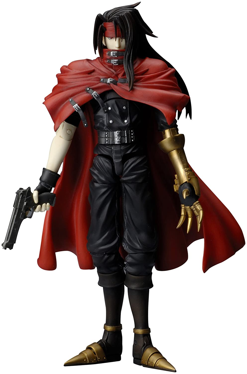 Amazon.com: Final Fantasy VII (FFVII) Play Arts Game Ed: Vincent Valentine  [Action Figure] By Square Enix: Toys U0026 Games