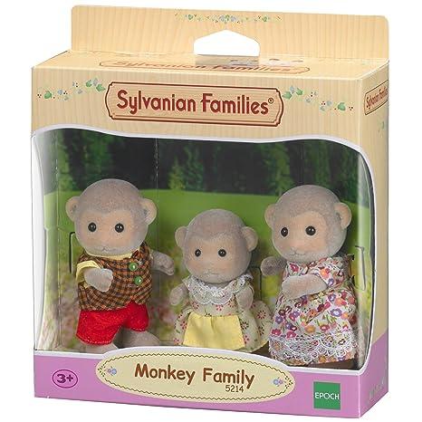 Sylvanian Families-5054131052143 Familia Monos Epoch para Imaginar 5214