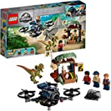 LEGO Jurassic World Dilophosaurus on The Loose 75934 Building Kit