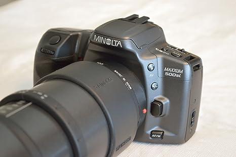 Minolta Maxxum 500si SLR - Cámara réflex (35 mm, Lente de Zoom 35 ...