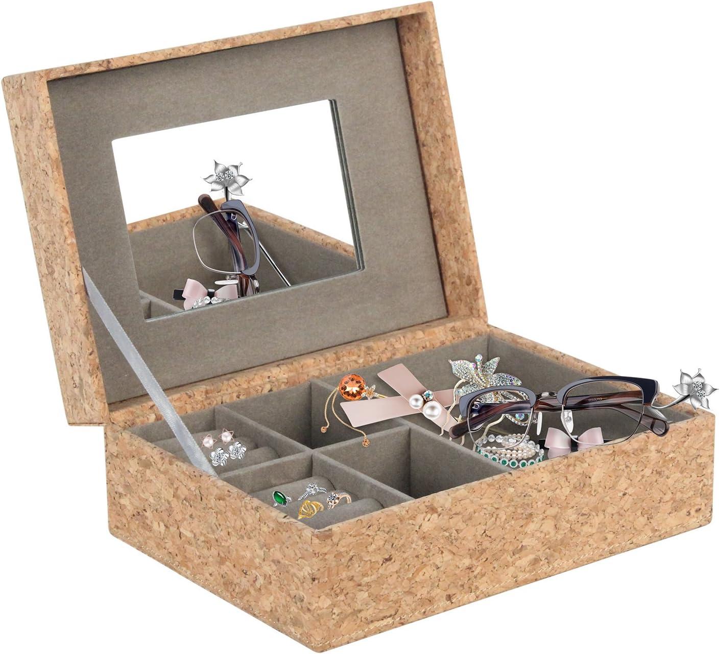 Vox Relojes Caja piel hombre negro reloj maletín Caja: Amazon.es: Hogar