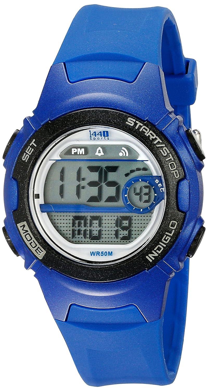 85c27f2a1 Amazon.com: Timex Women's 1440 Sport Digital Blue Resin Watch Indiglo  T5K596 Chronograph: Timex: Watches