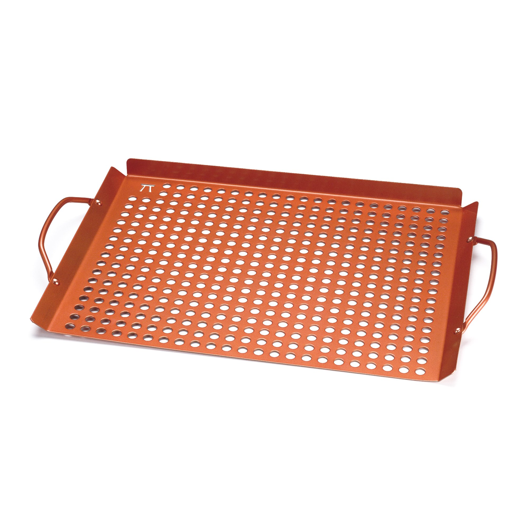 Outset QN71 Large Grill Grid with Handles, Copper Non-Stick