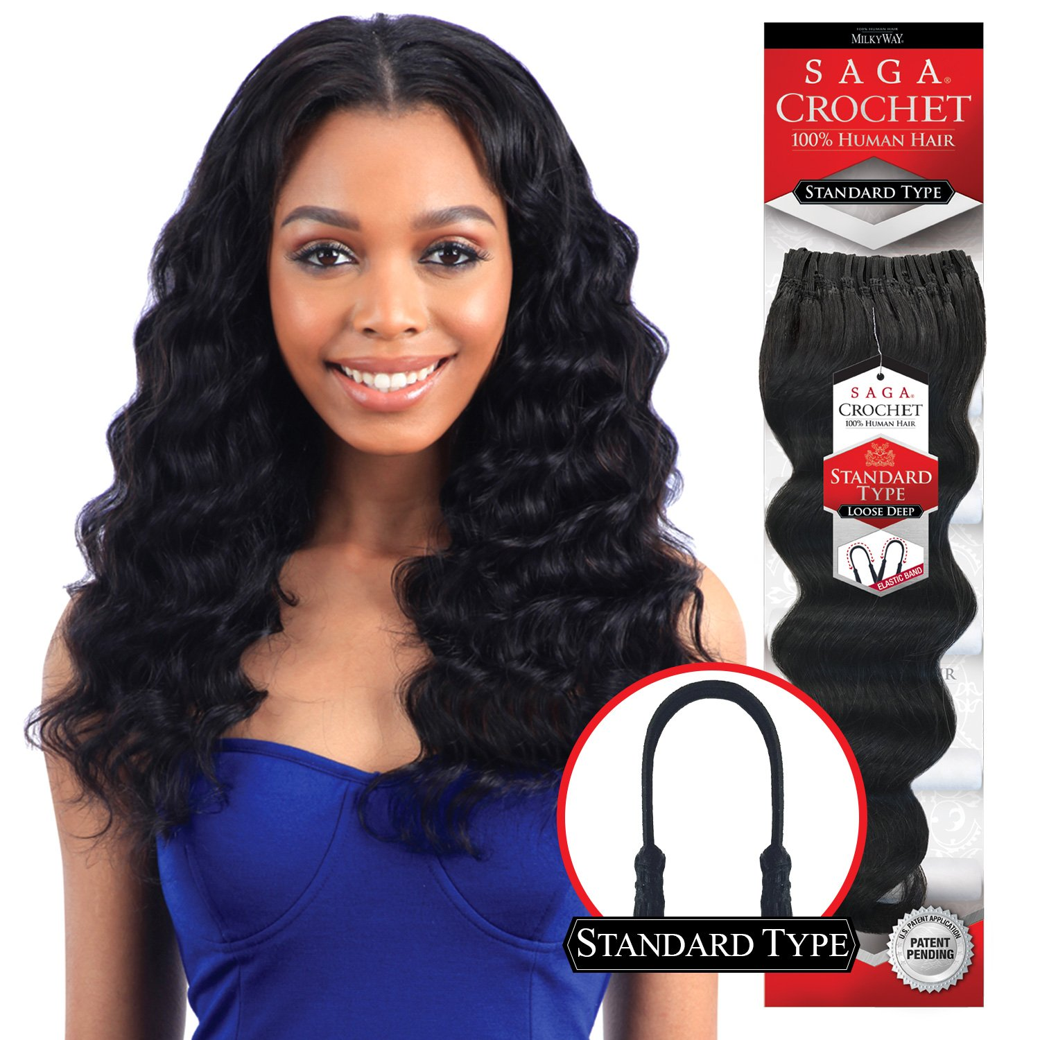 Amazon.com : MULTI-PACK DEALS! Saga Human Hair Crochet