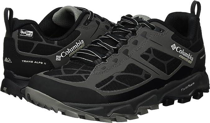 Columbia Trans Alps II Outdry, Zapatillas de Running para Asfalto para Hombre, Negro (Dark Grey/Black), 48 EU: Amazon.es: Zapatos y complementos