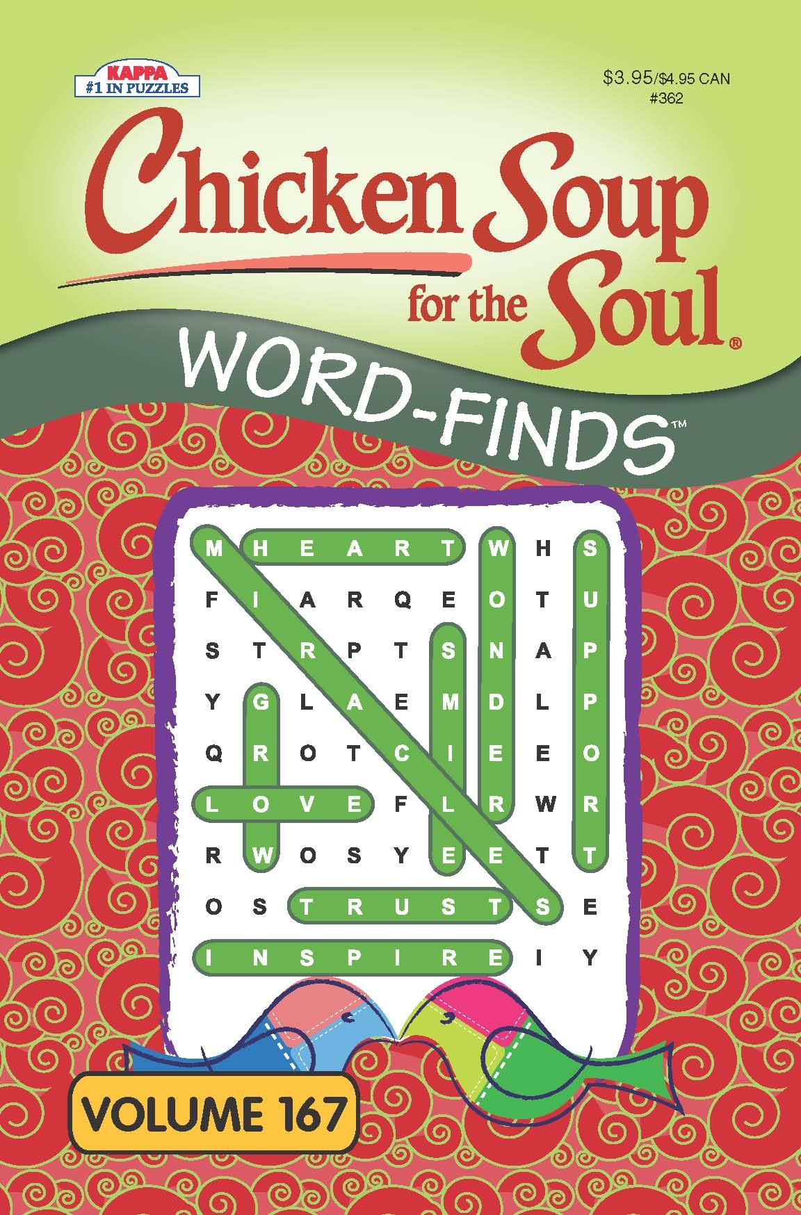 Chicken Puzzle Book Word Search Vol 167 product image