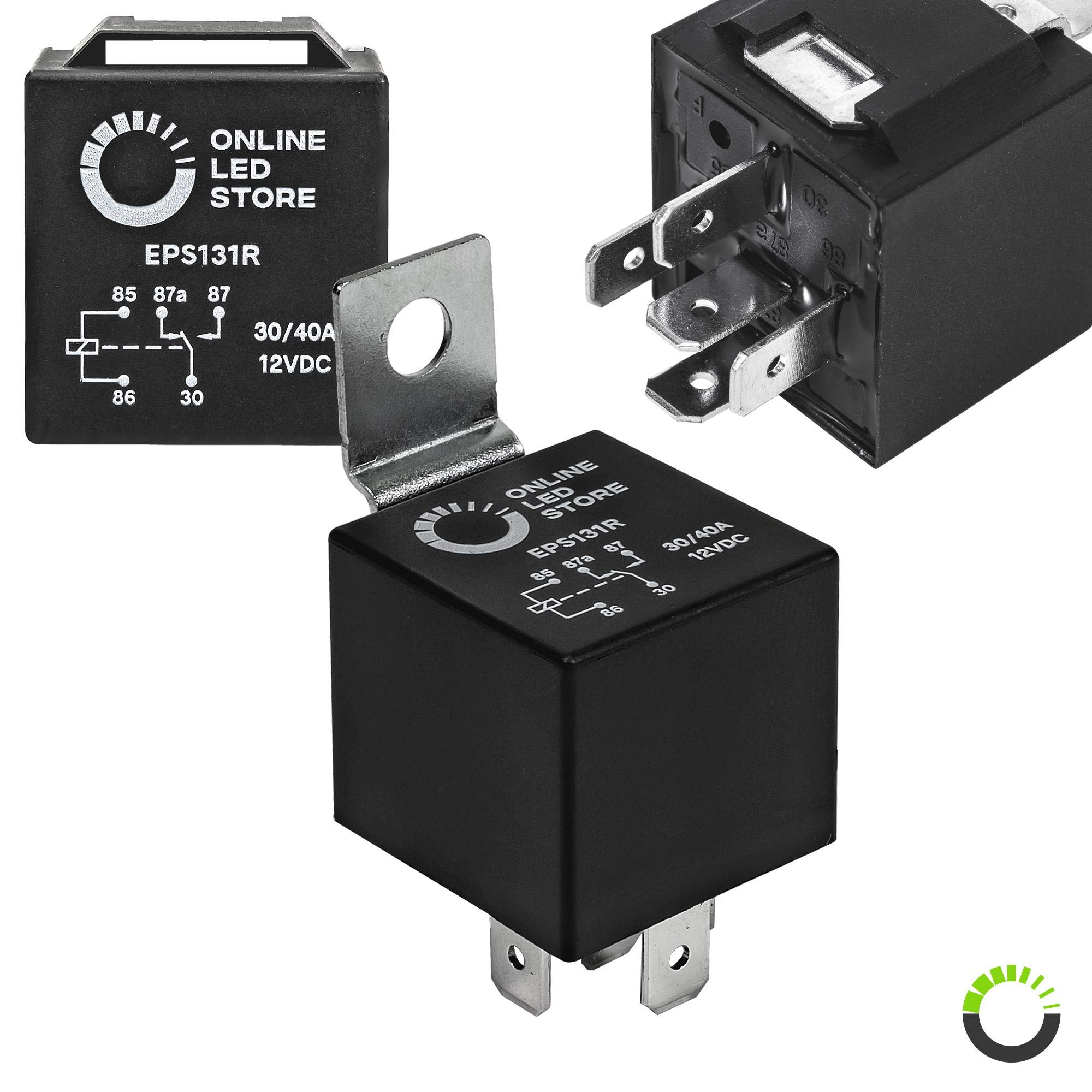 12V 30 40A SPDT Bosch Style Automotive Relays 10//Pack 12 Volt