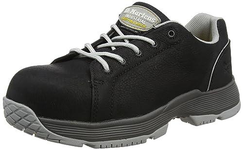 Dr. Martens Blaze S1p, Zapatos de Seguridad para Mujer, Negro (Black 001