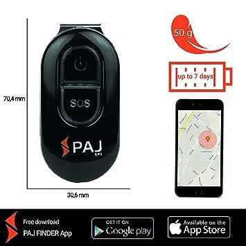 PAJ Easy Finder 2.0 - Localizador GPS - Marca Alemana - Tracker para Niños, Personas