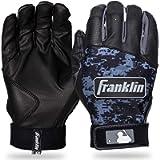 Franklin Sports MLB Digitek Batting Gloves – Youth Batting Glove – Tri-Curve Technology Fit – Custom-Sized Batting…