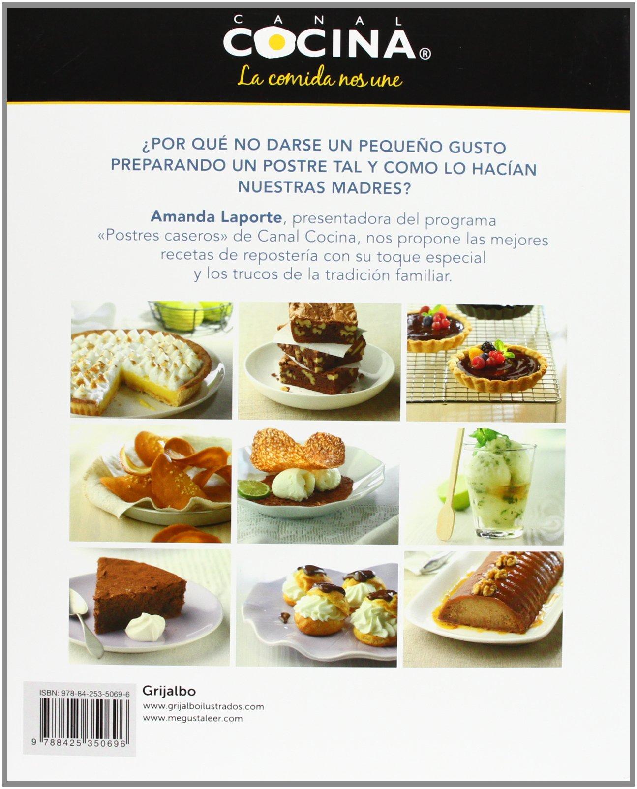Postres Caseros Cocina De Autor Spanish Edition 9788425350696 Laporte Amanda Books